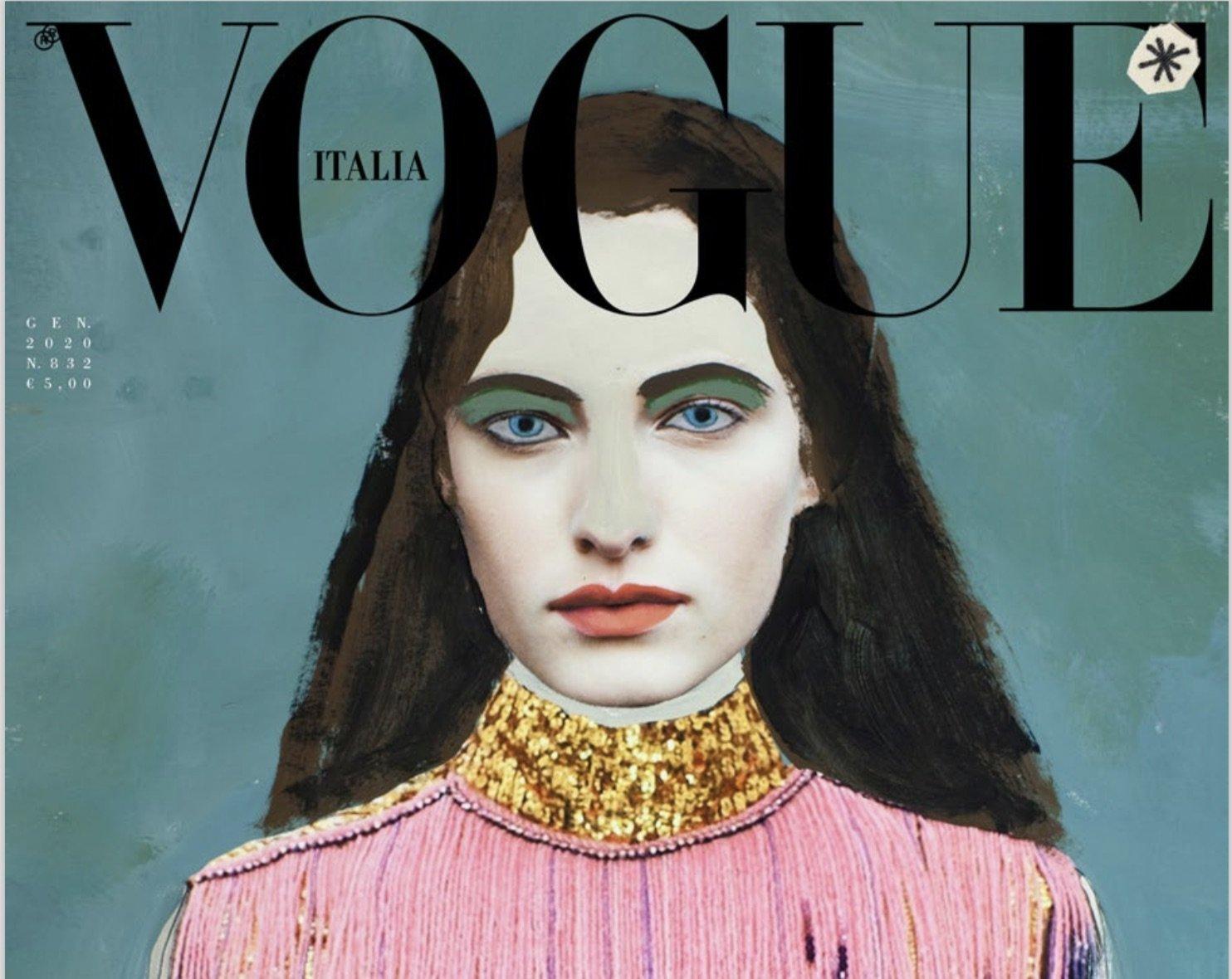 Vogue Italia, il numero di gennaio 2020 senza servizi fotografici