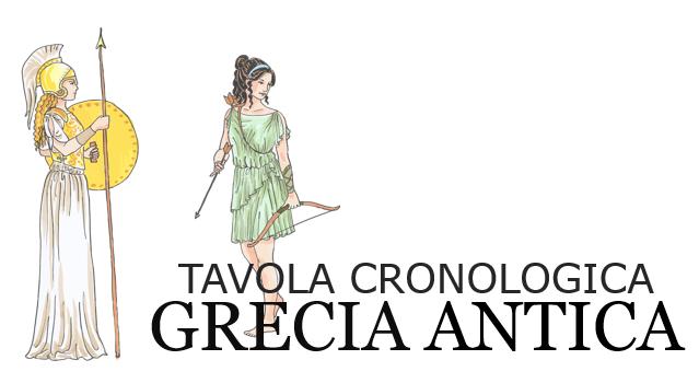 Grecia Antica Tavola Cronologica