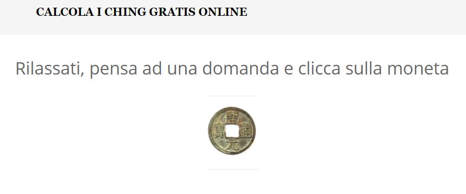Calcola I Ching Gratis online