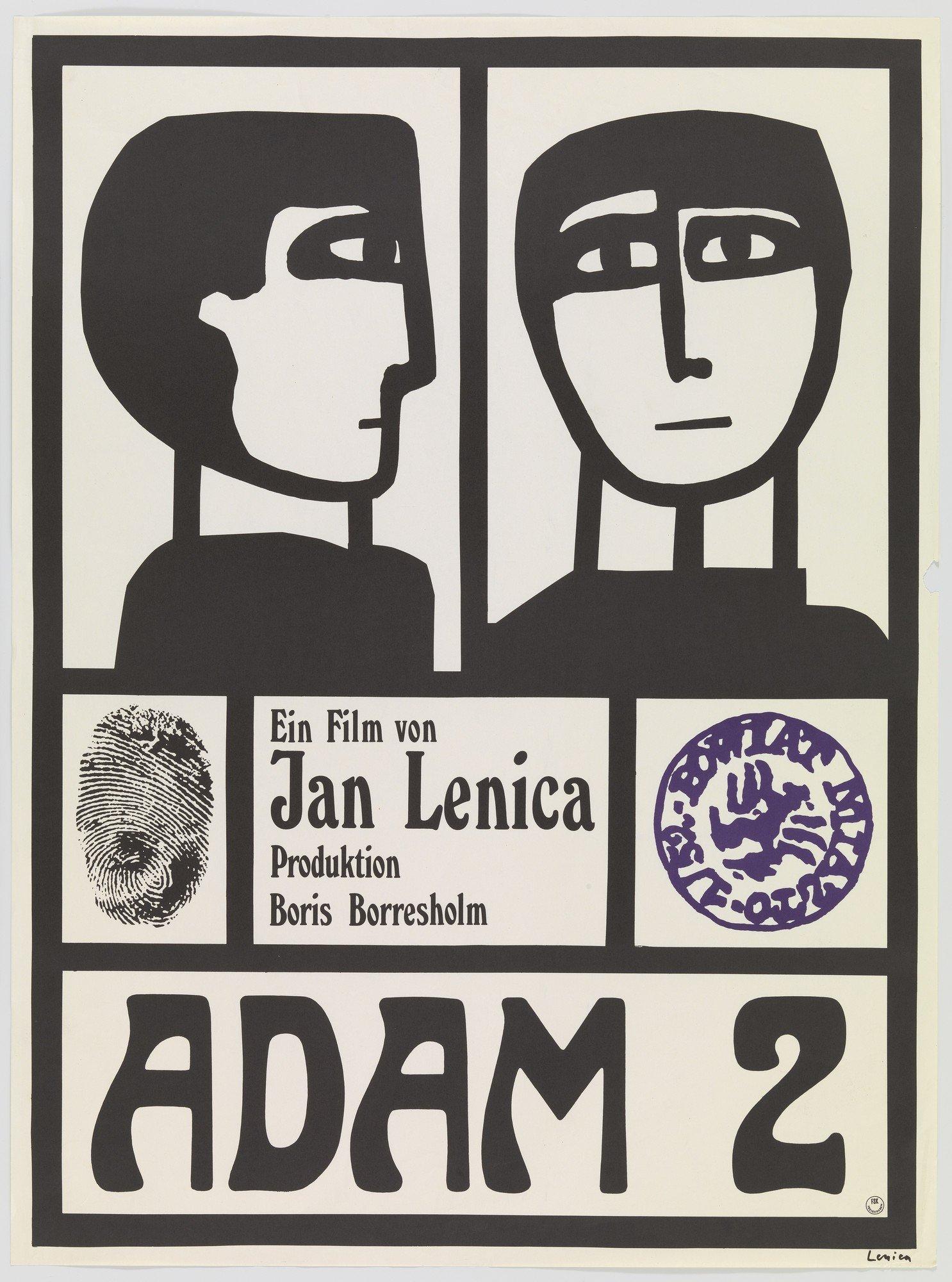 Jan Lenica poster