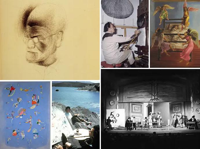 Salvador Dalì: collage di immagini