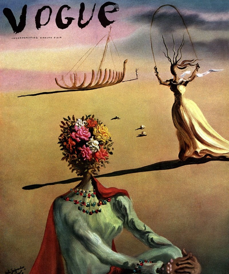 Salvador Dalì e le copertine di Vogue: un nuovo modo di guardare l'artista