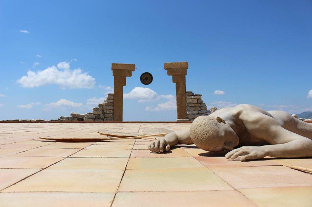 Teatro Andromeda: l'opera del visionario  pastore-scultore Lorenzo Reina