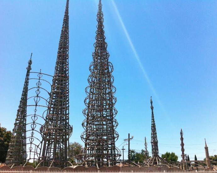 Watts Towers Los Angeles