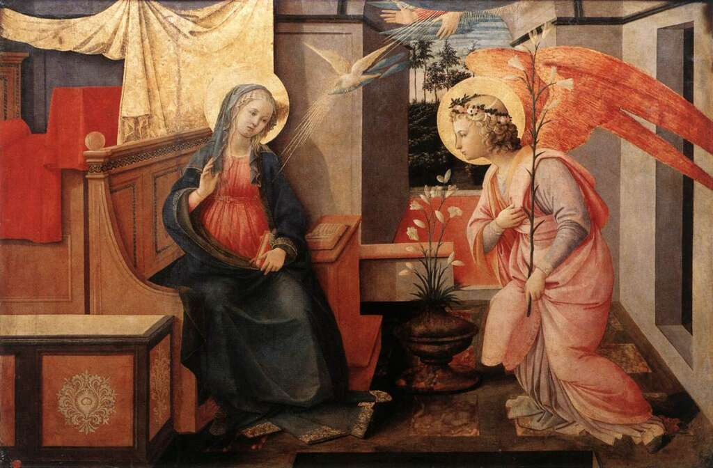 Filippo Lippi Annunciazione