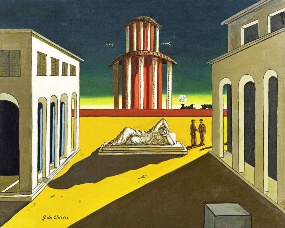 Giorgio De Chirico metafisica